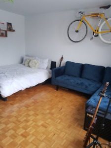Downtown penthouse studio sublet for January only (maybe Feb)