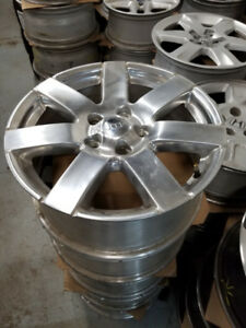 "18"" Jeep Wrangler OEM alloy rims 5 x 127 / TPMS  x 5 of them"