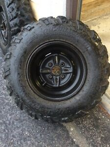Atv tires and rims make me an offer