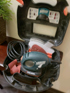mini Mouse electric hand sander Black & decker