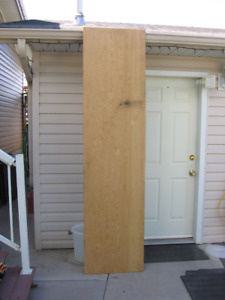 1/2 sheet of plywood for sale