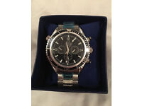 Omega Seamaster Watch Black/ Automatic Movement / Postage Available