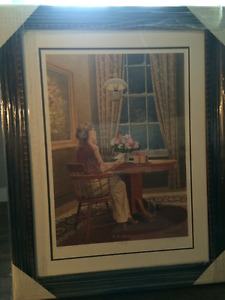 Beautifully Framed James Lumbers The Gift Print New