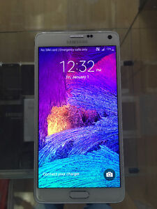 Store Sale Samsung Note4 Unlocked Mint condition $450