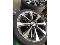 Vauxhall corsa alloys mutifit tyres