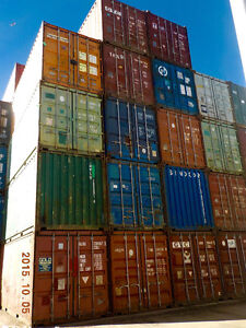 SEA CONTAINERS 20' USED