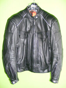 FIRST GEAR Leather Jacket - Medium at RE-GEAR