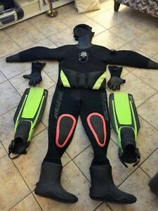 Whites Scuba Dry Suit Neoprene