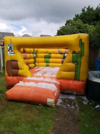 bouncy castle commercial