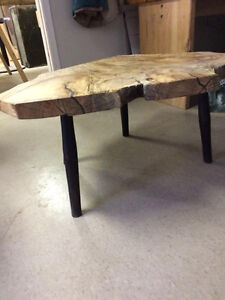 Live Edge Spalted Sugar Maple Coffee Table