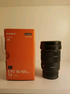 Sony 18-105mm APS-C Emount lens
