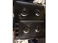 Delongi gas hob with everything except brackets