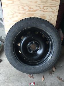 Set of General Altimax Arctic 185/60R15 Winter Tires