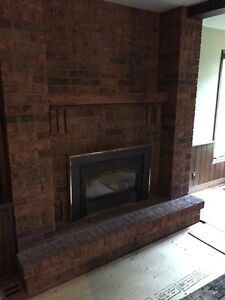 Natural gas fire place perfect condition
