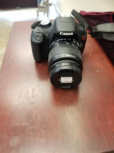 Canon EOS Rebel T5 With 18-55mm Lens