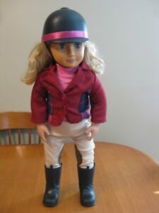 "18"" DOLL EQUESTRIAN RIDING DOLL OUR GENERATION GIRL"