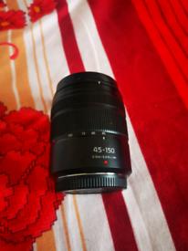 Panasonic lumix 45-150 mm lens