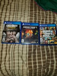 3 playstation 4 games
