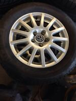 Volkswagen original rims and tires for sale $375 OBO