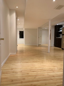 Large Unfurnished Basement  for Rent - Whitby