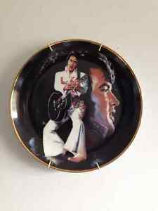 Elvis Collector Plate- first in series