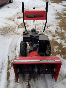 Snow blower for sale needs work