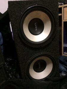 INFINITY SUBWOOFERS