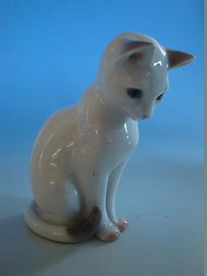 RS1116-225: B&G Bing & Gröndahl Porzellan Figur Katze Cat