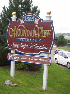 Large 2 bedroom apartments across from Casino, NB