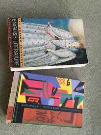 English literature textbooks - Norton Anthologies