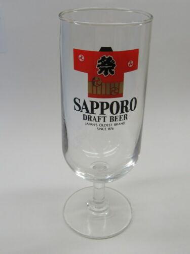 BEER Stem Glass ~ SAPPORO Imported Premium ~ Japan