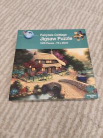 Fairytale Cottage 1000 piece puzzle