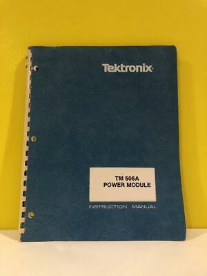 Tektronix 070-6929-00 Tm 506a Power Module Instruction Manual