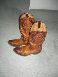 Paire de bottes style Western (Boulet)