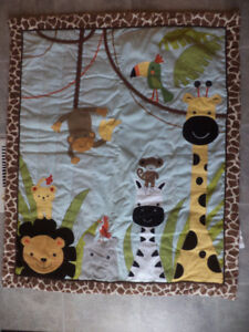 Lambs and Ivy Peek a Boo Jungle bedding set