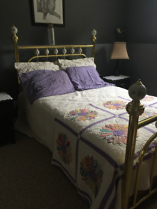 Antique Brass Bed Double/Full