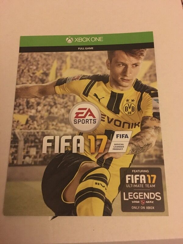 Fifa 17in Bournemouth, DorsetGumtree - Hi here I have a copy of Fifa 17 it is code and is 100% working looking to swap for bf1 on Xbox ( you can bring your Xbox to use code before swap thxs for looking