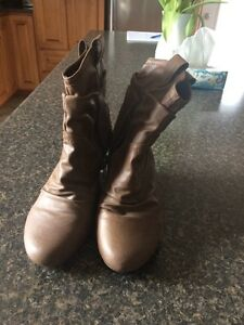 Brown Aldo Ankle Boots