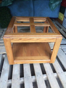 Wood End Tables- FREE