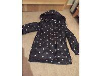 Fleece lined raincoat 4-5 years