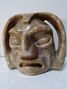BEAUTIFULLY UGLY south american STONE SPIRIT SCULPTURE ART 6lbs. Cambridge Kitchener Area image 10
