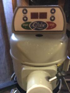 20 Qt Mixer, Globe, Works Great 40 gallon tilting skillet,electr