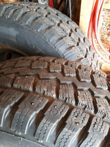 245/70r17 winter studded tires!