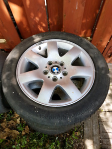 Jantes BMW et pneus
