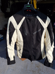 WOMAN TEKNIC MOTORCYCLE JACKET