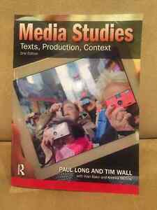 Media Studies Texts, Prod, Context, 2nd Ed, Phil Long Tim Wall