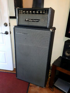 """Sell or Trade, Vintage Traynor """"All Tube"""" Head w Traynor Cabinet"""