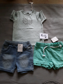 Girls set 9-12 months