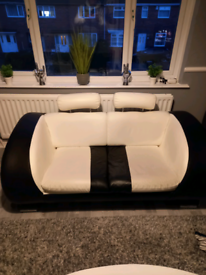 Free black and white sofa