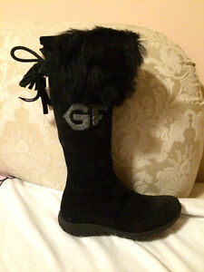 GF FERRE girl winter boots  size 12-13 youth  MADE IN ITALY